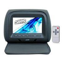 Encosto de cabeça monitor 7 ´ com capa e ziper - Grafite