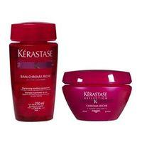 Kerastase Refléction Duo Kit Shampoo Bain Chroma Riche ( 250ml ) e Máscara Chroma Riche ( 200ml )