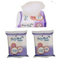 Kit 3 Lenços Umedecidos sem Perfume Baby Bath - Embalagem de Bolso