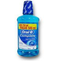 Kit Antisséptico Complete Oral B 500ml