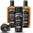 Kit Barbearia Johnnie Black - Shampoo ´ s Condicionador e Pomada