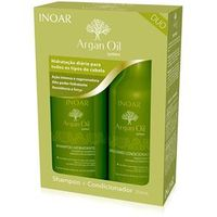 Kit Inoar Argan Oil Shampoo + Condicionador 250 ml