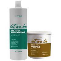 Kit Let Me Be Smoonthing Pro Salon+ Máscara Banho de Verniz