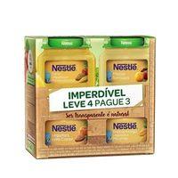 Kit Papinha Nestlé 115g 3 Unidades + Papinha de Frutas 120g