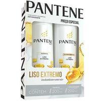 Kit Shampoo + Condicionador Liso Extremo 200ml - Pantene