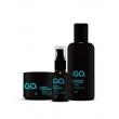 Kit Shampoo, Oleo e Balm Fresh GO.