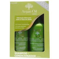 Kit Tratamento Inoar Argan Oil System Salon ( 2 Produtos )