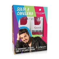 Kit Vitalcap Solta a Cabeleira Cachos Naturais Shampoo + CoWash Higienizante