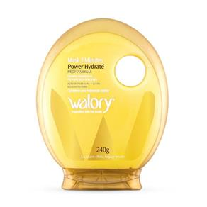 Máscara de Tratamento Walory 3 Minutos Power Hydrate