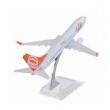 Miniatura Avião Metal Boeing Airbus Vários Modelos 16x15 cm - GOL 737