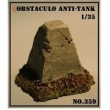 Obstaculo Anti - Tanque - Arsenal Hobby