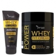 Power Whey Fit Cream Yenzah - Kit Condicionador 200ml + Máscara 480g Kit
