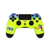 PS4 - Controle Dual Shock 4 - Pintura Customizada - Fifa Sun