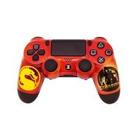 PS4 - Dual Shock 4 - Pintura Customizada - Mortal Kombat Scorpion