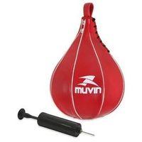 Punching Ball Vermelho com Bomba de Ar Muvin