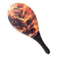 Raquete de Frescobol Fast Ball Fibra RF016 Fogo