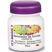 Removedor de Esmalte Studio 35 Express Regular 75ml