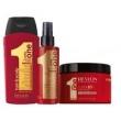 Revlon Uniq One Kit com Shampoo 300ml + Leave - in 150ml + Máscara Supermask 300ml