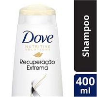 Shampoo Dove Recuperação Extrema para Cabelos Danificados