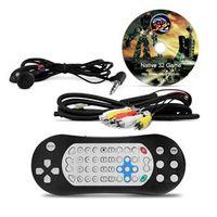 Tela Encosto Cabeça Slim Prime 7 Polegadas Preto Fosco DVD USB Controle Games Tela Encosto Cabeça Slim 7 Polegadas Preto Fosco U