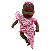 Boneca Baby Nenenzinha Recém Nascida Negra - Divertoys