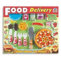 Conjunto Pizza Braskit Food Delivery com Velcro