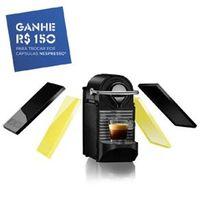 Máquina de café Nespresso Pixie Clips Preto e Lima Neon 110V