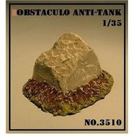 Obstaculo Anti - Tanque Danificado - Arsenal Hobby