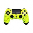 PS4 - Dual Shock 4 - Pintura Customizada - Yellow Flakes
