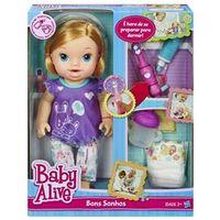 Boneca Baby Alive - Bons Sonhos Loira