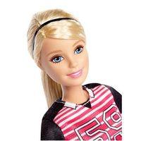 Boneca Barbie - Feita para Mexer - Esportista - Jogadora de Futebol Loira - Mattel