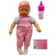 Boneca Bebê Mamadeira E Certidão Estilo Reborn - Divertoys