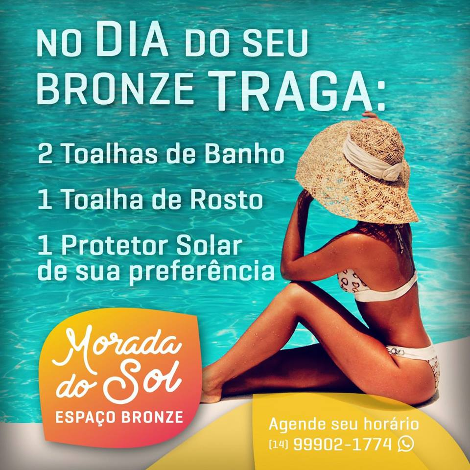 BRONZEAMENTO NATURAL MORADA DO SOL
