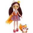 Enchantimals Boneca e Bichinho Felicity Fox - Mattel