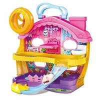Playset Mansão Hamster Com Figura - Hamsters In A House - Candide