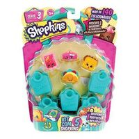 Shopkins Serie 3 - Blister Kit Com 5 Shopkins