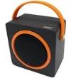 Caixa De Som Bluetooth Usb Fm 10w Music Box Laranja Sk404