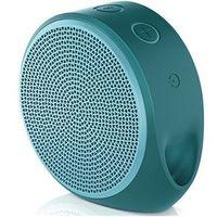 Caixa de som - Logitech Logitech X100 alto - falante sem fio microfone tinta ciano