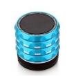 Caixa de som sem fio - apphome Bluetooth viva - voz mini - estéreo portátil azul