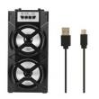 Caixa de som Sem Fio Bluetooth Speaker de Alta Potência de Áudio de Rádio FM Leitor de Música Apoio TF Cartão USB