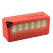 Caixa de som sem fio - Notícias X3s modo alto - falante Bluetooth luzes de áudio sem fio 40 LED vermelho brilhante