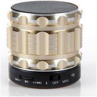 Caixa de som - UniscomS08 S08 alto - falantes Bluetooth subwoofer sem fio luz roxa