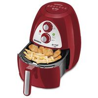 Fritadeira Air Fryer Mondial Inox Red Premium AF - 14 - Vermelho / Inox 110V