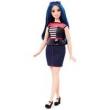 Boneca Barbie Fashionista Sweetheart Stripes Curvy Mattel