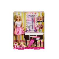 Boneca Barbie Penteie do Seu Jeito - Mattel DJP92