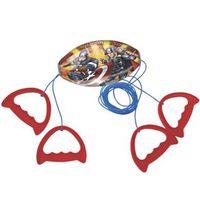 Brinquedo Infantil Vai e Vem Avengers Vermelho / Azul 2459 - Lider