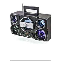 Caixa de Som Portátil Bluetooth Recarregável Potente 40W