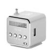 Caixa de som sem fio - Matcheasy pequeno mini cartão multifunções portátil rádio alto - falante leitor de música alto - falante