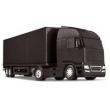 Caminhão Baú Roda Livre - Diamond Truck - Preto - Roma Jensen
