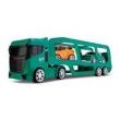 Caminhão Cegonheira - com 2 carrinhos - Next Race - Verde - Roma Jensen